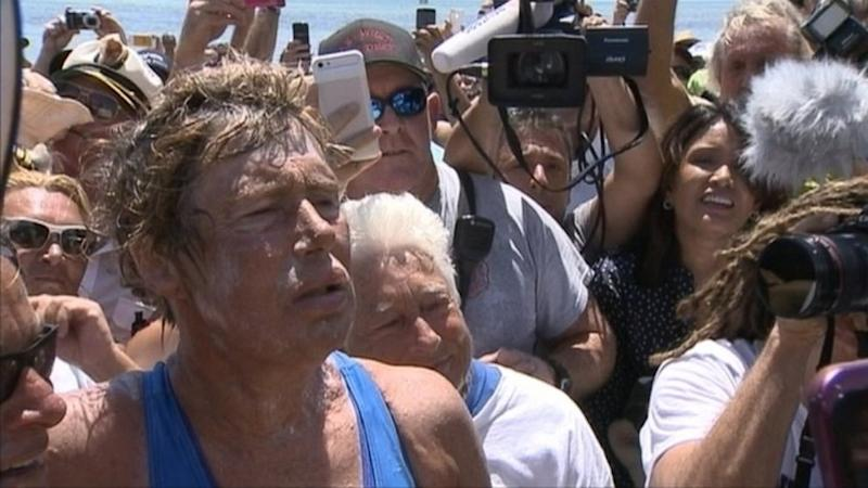 Diana Nyad: 'We Should Never Ever Give Up' (ABC News)