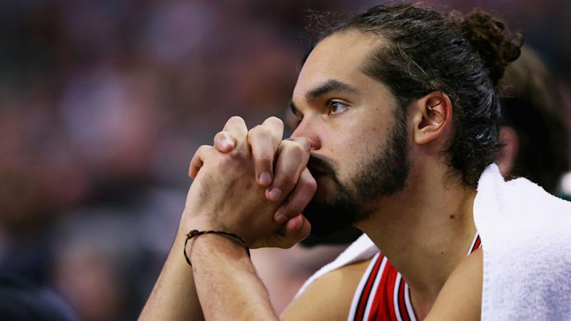 Knicks' Joakim Noah says he's cleared to play, can begin suspension