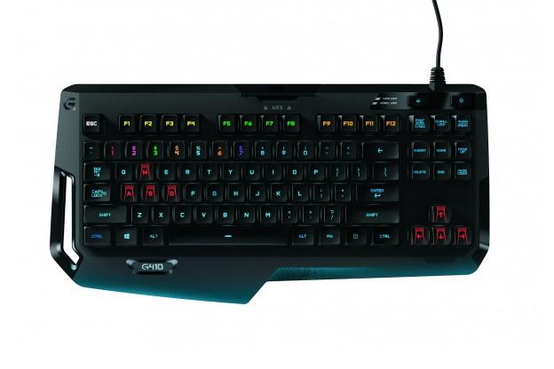 LOGITECH MECHANICAL GAMING G410 ATLAS SPECTRUM KEYBOARD