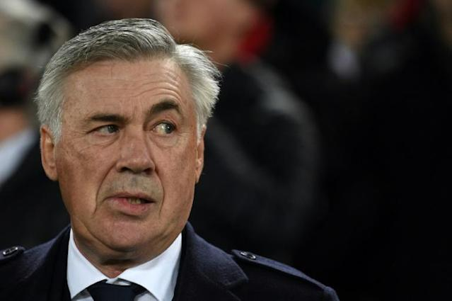 Eyebrows raised: Everton's appointment of Carlo Ancelotti is seen as a coup for the Premier League strugglers (AFP Photo/Oli SCARFF )