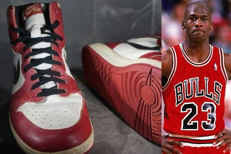 Glass Shattering! Michael Jordan's Sneakers Sell for $615,000 to Set a New Record