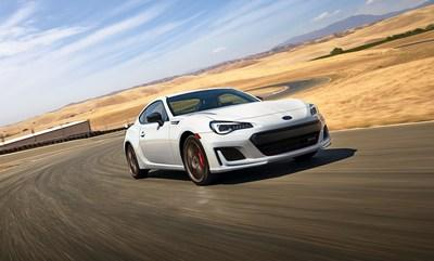 Subaru Announces Pricing for 2020 BRZ, WRX and WRX STI Performance Model Lines (pictured: 2020 BRZ tS)