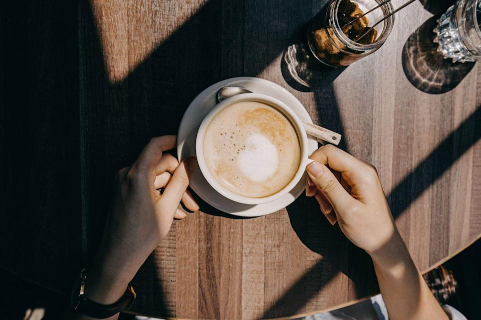 "<p>If you're having trouble falling asleep, having <a href=""https://www.health.harvard.edu/staying-healthy/successful-aging-10-tips-for-better-sleep"" rel=""nofollow noopener"" target=""_blank"" data-ylk=""slk:too much caffeine"" class=""link rapid-noclick-resp"">too much caffeine</a> throughout the day may be the issue, according to Harvard Health Publishing. ""For some people, a single cup of coffee in the morning means a sleepless night. Caffeine can also increase the need to urinate during the night."" Try reducing your caffeine intake or getting rid of it altogether to if it's affecting your sleep.</p>"