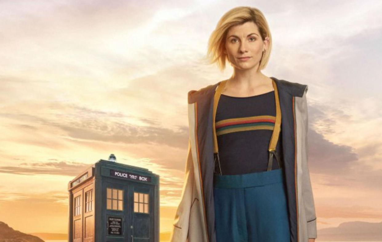 'Doctor Who's' social media accounts have disappeared. (BBC)