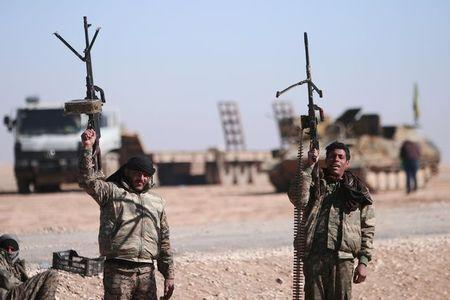 Syrian militia launches offensive to capture Raqqa