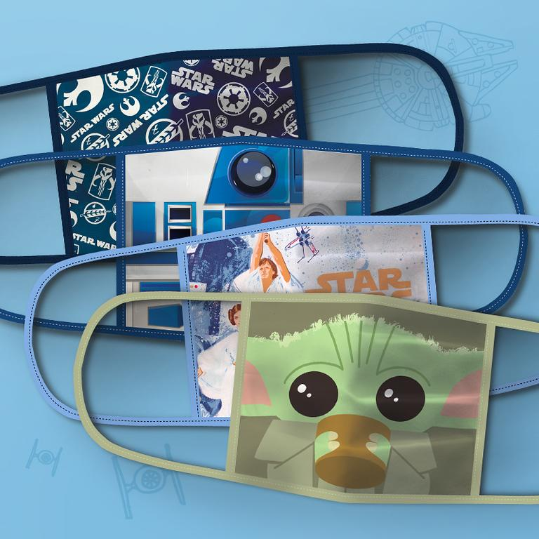 Star Wars Cloth Face Masks 4-Pack Set (Photo: Disney Parks, Experiences and Products)