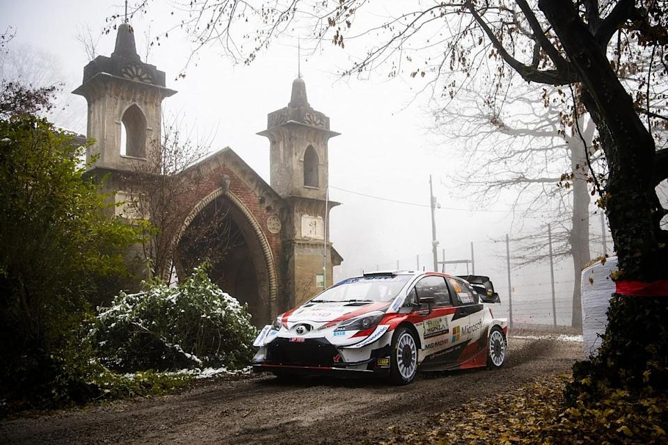Evans crashes out of Rally Monza, Ogier in the box seat