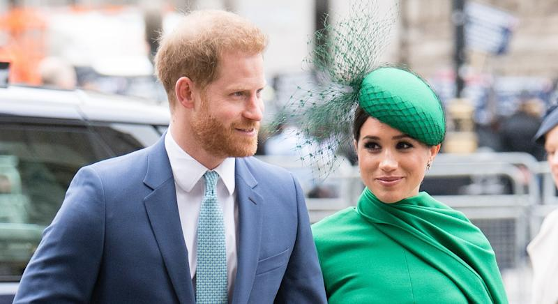 Prince Harry and Meghan Markle recently volunteered with LA-based organisation Baby2Baby. (Getty images)