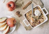 """<p>A warm, <a rel=""""nofollow noopener"""" href=""""https://www.countryliving.com/food-drinks/g975/apple-dessert-recipes/"""" target=""""_blank"""" data-ylk=""""slk:homemade apple cobbler"""" class=""""link rapid-noclick-resp"""">homemade apple cobbler</a> on a cool fall day is nothing short of perfection. Use your fresh fruit from the orchard to make these <a rel=""""nofollow noopener"""" href=""""https://www.countryliving.com/food-drinks/g454/autumn-treats-1007/"""" target=""""_blank"""" data-ylk=""""slk:comforting desserts"""" class=""""link rapid-noclick-resp"""">comforting desserts</a> and you'll be delighted by every single bite. <br></p>"""