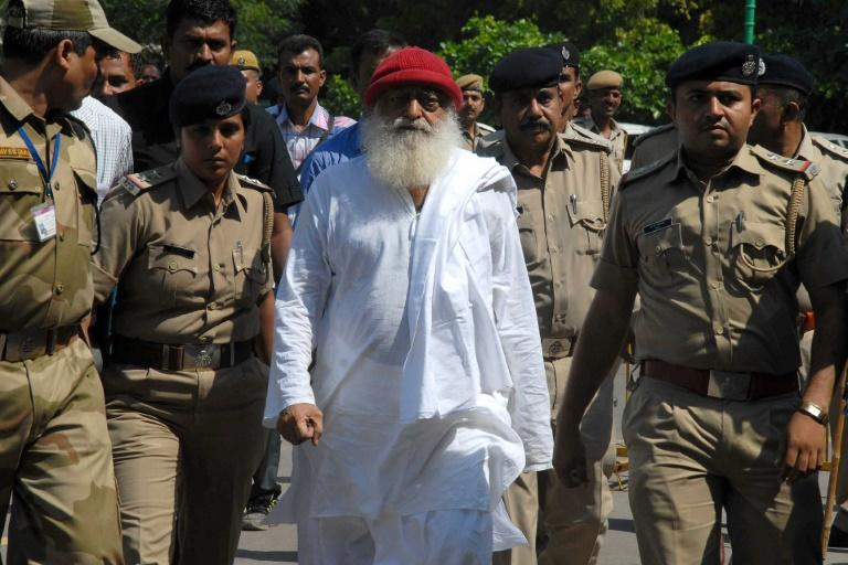 Indian spiritual leader Asaram Bapu, who urges followers to live a pious life free of sexual desires, leads hundreds of ashrams in India and overseas