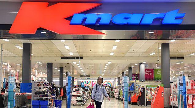 Kmart has apologised for the incident. Photo: AAP