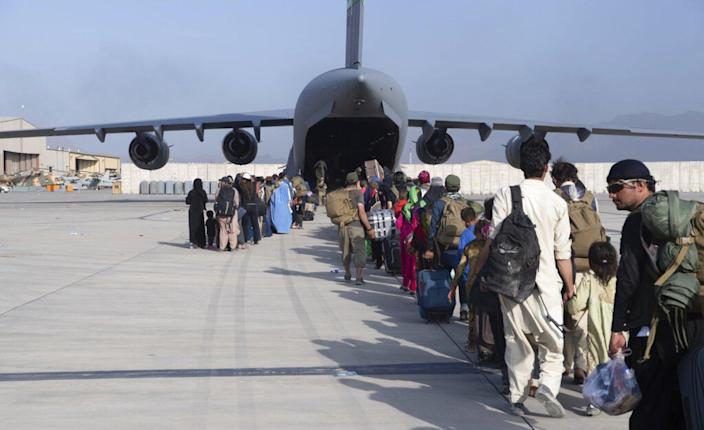 State Department warns US citizens to leave gates of Kabul airport 'immediately' due to threats