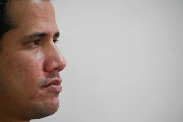 Key allies including the United States and European Union continue to view Venezuelan opposition leader Juan Guaido as the country's interim leader (AFP/Federico PARRA)