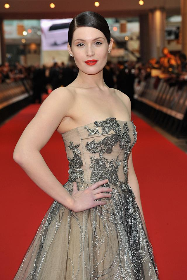 """<a href=""""http://movies.yahoo.com/movie/contributor/1809853072"""">Gemma Arterton</a> at the London premiere of <a href=""""http://movies.yahoo.com/movie/1810041991/info"""">Prince of Persia: The Sands of Time</a> - 05/09/2010"""
