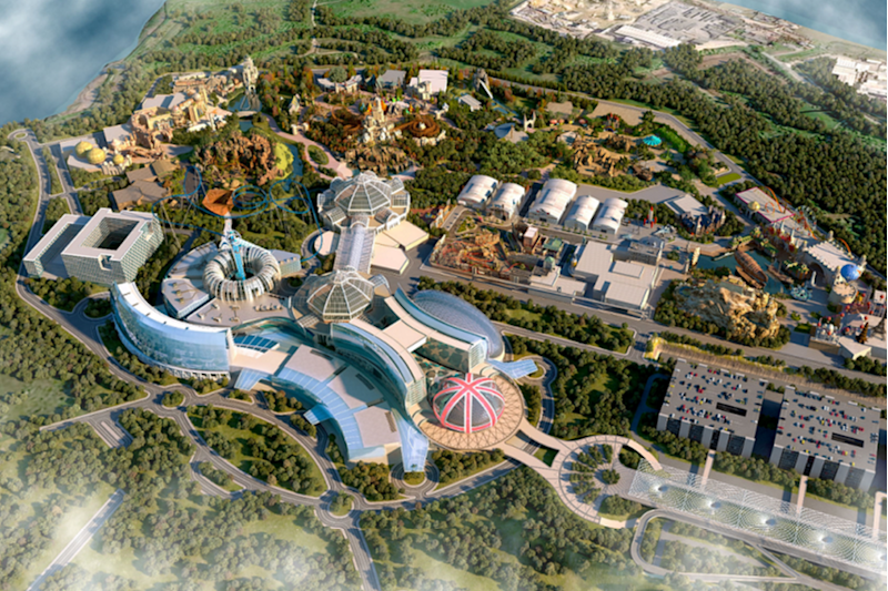 The London Resort, coming in 2024: LRCH