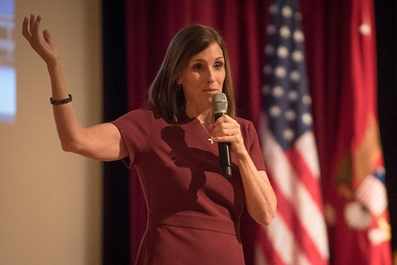 The Air Force Investigated Martha McSally for Seeking Advice After Sexual Assaults