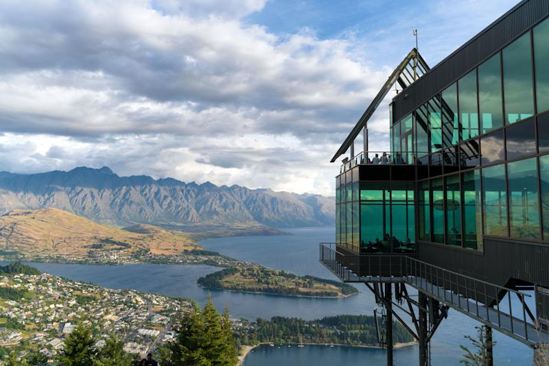 Skyline park and a view of Queenstown, New Zealand. (Photo: Getty Images)