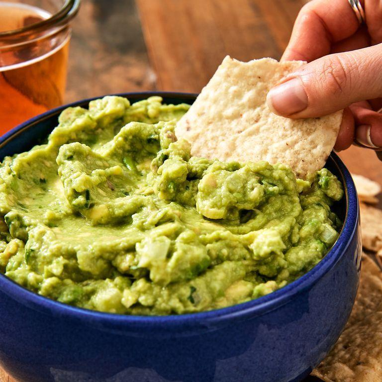 "<p>You can't <em>not </em>serve guac—here's our all-time favorite recipe. </p><p>Get the recipe from <a href=""https://www.delish.com/cooking/recipe-ideas/recipes/a45570/best-ever-guacamole-recipe/"" rel=""nofollow noopener"" target=""_blank"" data-ylk=""slk:Delish"" class=""link rapid-noclick-resp"">Delish</a>.</p>"