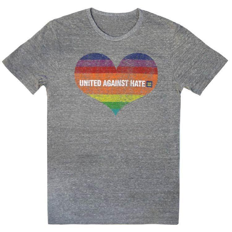 """<p><strong>Human Rights Campaign</strong></p><p>hrc.org</p><p><strong>$29.00</strong></p><p><a href=""""https://shop.hrc.org/clothing/united-against-hate-t-shirt.html"""" rel=""""nofollow noopener"""" target=""""_blank"""" data-ylk=""""slk:Shop Now"""" class=""""link rapid-noclick-resp"""">Shop Now</a></p><p>Of course, you can always buy pride apparel directly from an LGBTQ+ organization such as the <strong><a href=""""https://www.hrc.org/"""" rel=""""nofollow noopener"""" target=""""_blank"""" data-ylk=""""slk:Human Rights Campaign"""" class=""""link rapid-noclick-resp"""">Human Rights Campaign</a> </strong>— especially since 100% of every purchase will help support their cause in advocating for LGBTQ equality, <em>and</em> you'll be sporting a great message of unity right on your shirt! </p><p><strong>RELATED: </strong><a href=""""https://www.goodhousekeeping.com/life/entertainment/g27886652/best-gay-lgbt-movies/"""" rel=""""nofollow noopener"""" target=""""_blank"""" data-ylk=""""slk:30 Best LGBTQ Movies on Netflix to Watch Now"""" class=""""link rapid-noclick-resp"""">30 Best LGBTQ Movies on Netflix to Watch Now</a></p>"""
