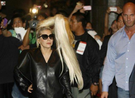 Despite protests, there was such demand for Gaga tickets that concert organisers extended the show from one night to two
