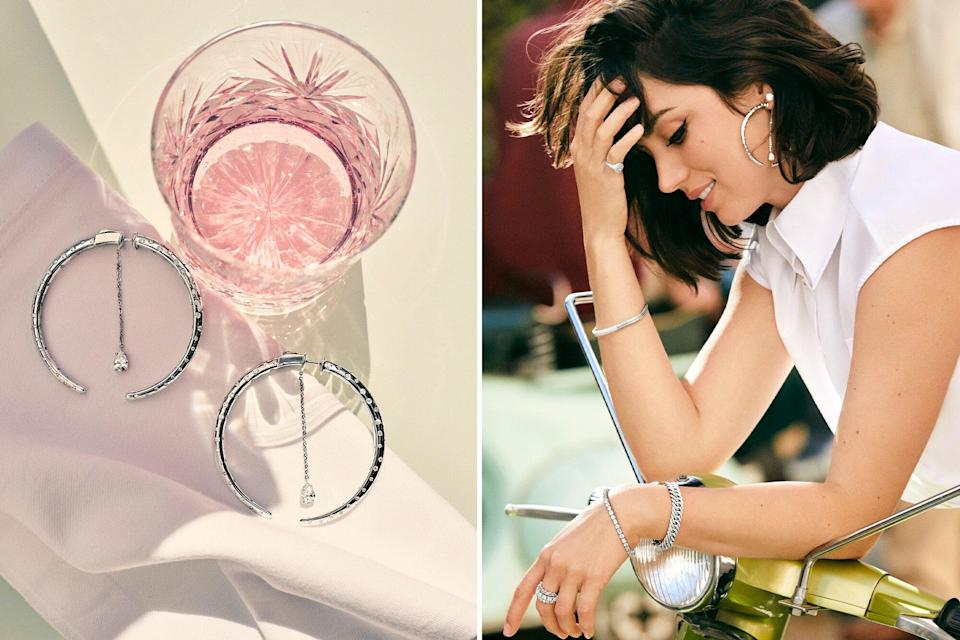 Ana de Armas Wears a 150 Carats of Diamonds Around Mallorca in This New Campaign