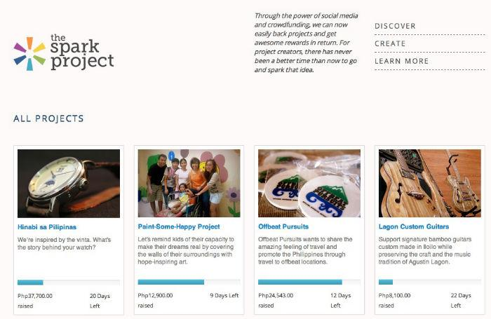 The Spark Project Screenshot