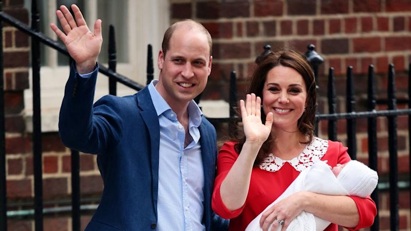 Kate Middleton And Prince William Name Royal Baby No 3