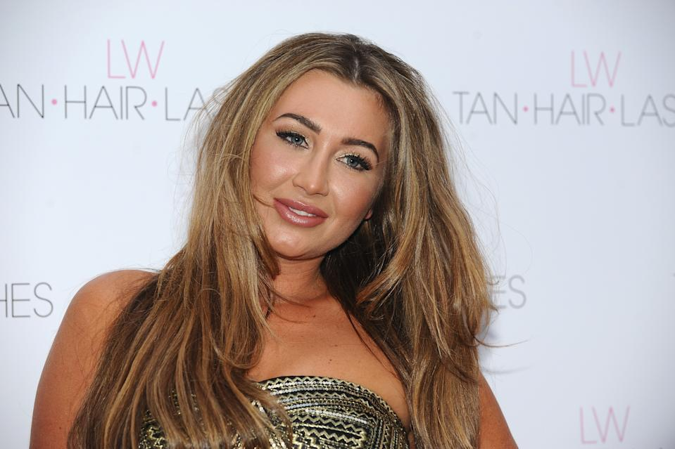 LONDON, ENGLAND - MAY 08:  Lauren Goodger attends the launch of 'Lauren's Way', a collection by Lauren Goodger at Jewel Bar on May 8, 2013 in London, England.  (Photo by Ferdaus Shamim/WireImage)