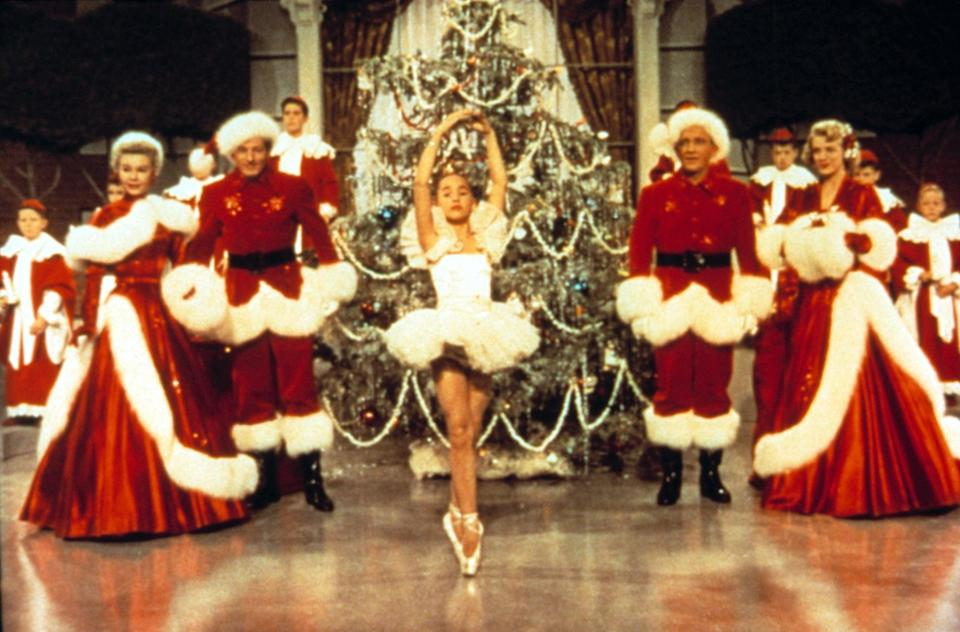 """<p>Truly one of the all-time holiday classics, <strong>White Christmas</strong> combines romance and humor with some outstanding song-and-dance numbers. Starring Bing Crosby, Rosemary Clooney, Vera-Ellen, and secret MVP-of-everything Danny Kaye, this 1954 heart-warmer is always a top-notch holiday pick. </p> <p>Watch <a href=""""https://www.netflix.com/title/60003082"""" class=""""link rapid-noclick-resp"""" rel=""""nofollow noopener"""" target=""""_blank"""" data-ylk=""""slk:White Christmas""""><strong>White Christmas</strong></a> on Netflix now.</p>"""
