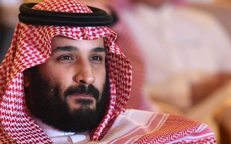 Saudi Crown Prince Mohammed bin Salman attends the Future Investment Initiative (FII) conference in Riyadh, - AFP