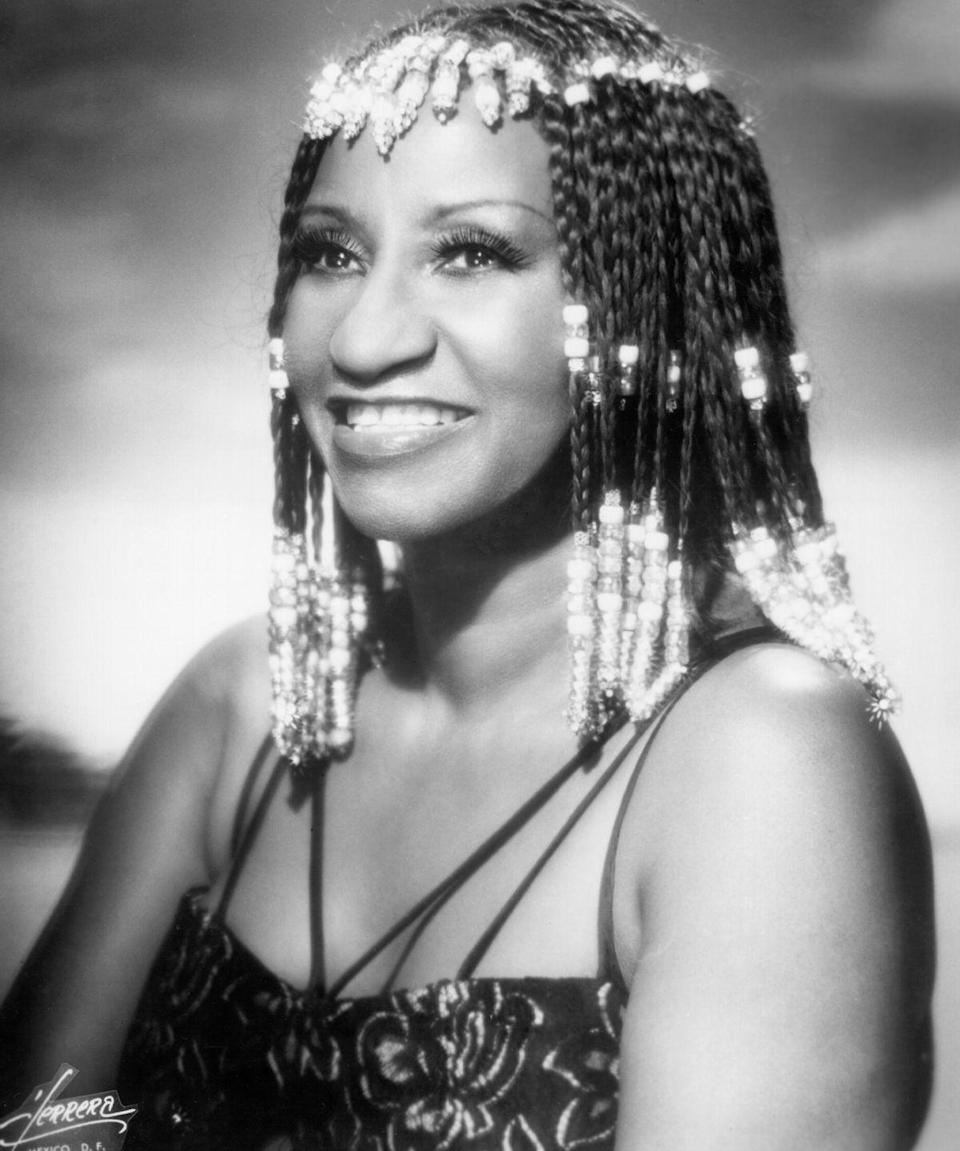 <p>Cruz was also known for serving iconic looks, from voluminous colored wigs to sequined mermaid dresses and bold jewelry. She remains a fashion inspiration to this day.</p>