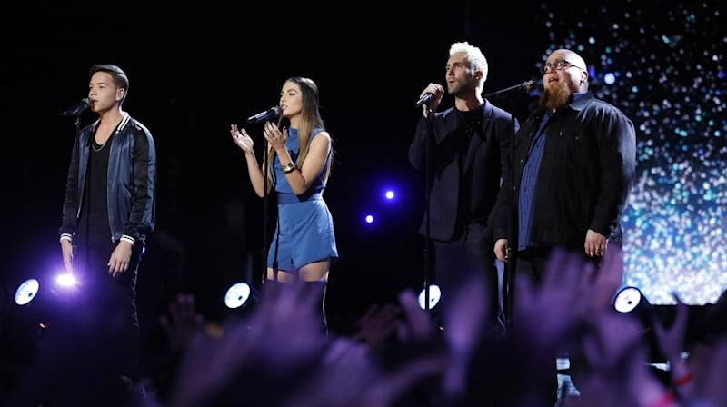 Watch Adam Levine Perform Poignant 'Hey Jude' for Christina Grimmie