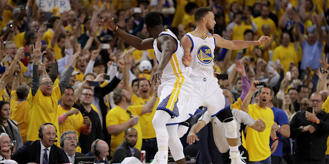 Warriors beat Cavs to take National Basketball Association title