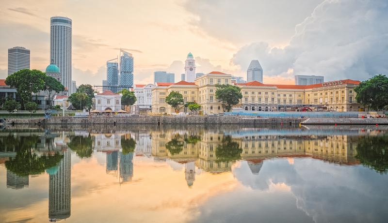 The IT professional prefers to document the lesser-seen elements of life - this shot captures the sunrise along Boat Quay, at the busiest part of the old Port of Singapore, which saw three quarters of all shipping business pass through during the 1860s. Photo: Teh Han Lin