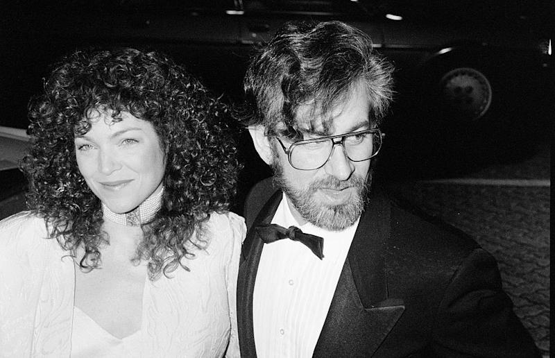 Steven Spielberg and Amy Irving split in 1989. Source: Getty