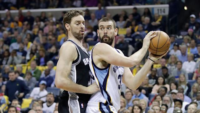 Drafting the right big man — like Marc Gasol — early could set you up for success later on. (Photo by Andy Lyons/Getty Images)