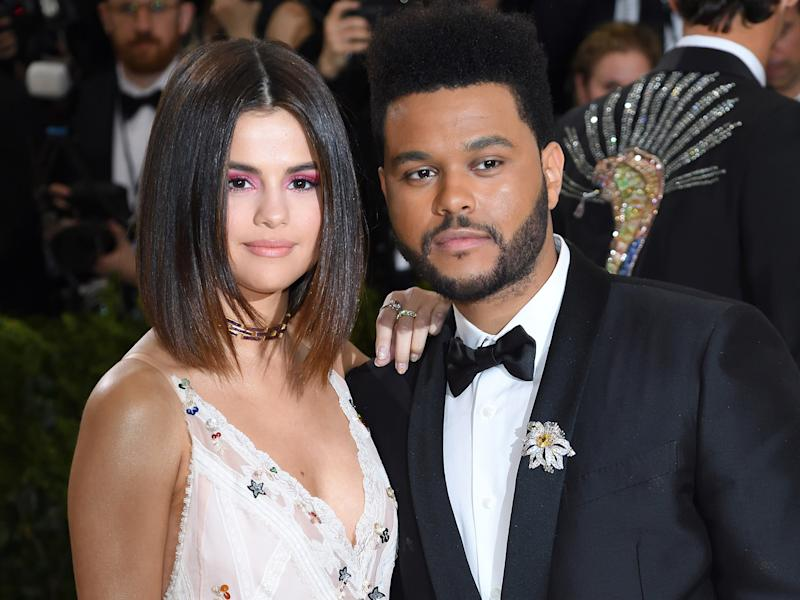 Selena Gomez and Weeknd
