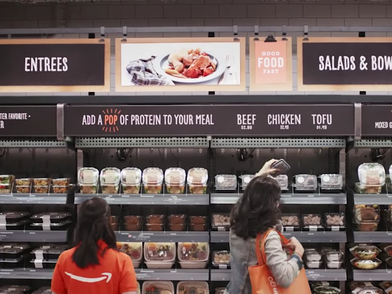 This is Amazon's grocery store of the future: No cashiers, no registers, and no lines. (Business Insider)