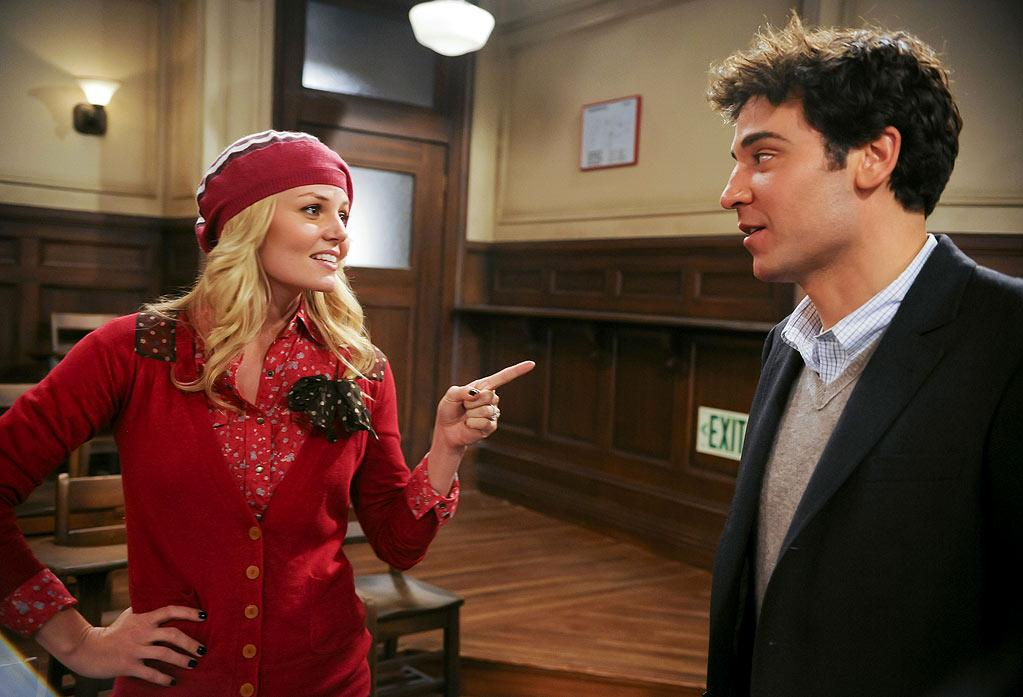 """<a href=""/how-i-met-your-mother/show/38167"">How I Met Your Mother</a>"": ""'HIMYM' jumped the shark this season casting the untalented Jennifer Morrison to play the boring Zoey. The arc needs to end as soon as possible."" — kokoon <a href=""http://www.tvguide.com/PhotoGallery/Shows-Jumped-Shark-1025939"" rel=""nofollow"">Source: TV Guide</a>"