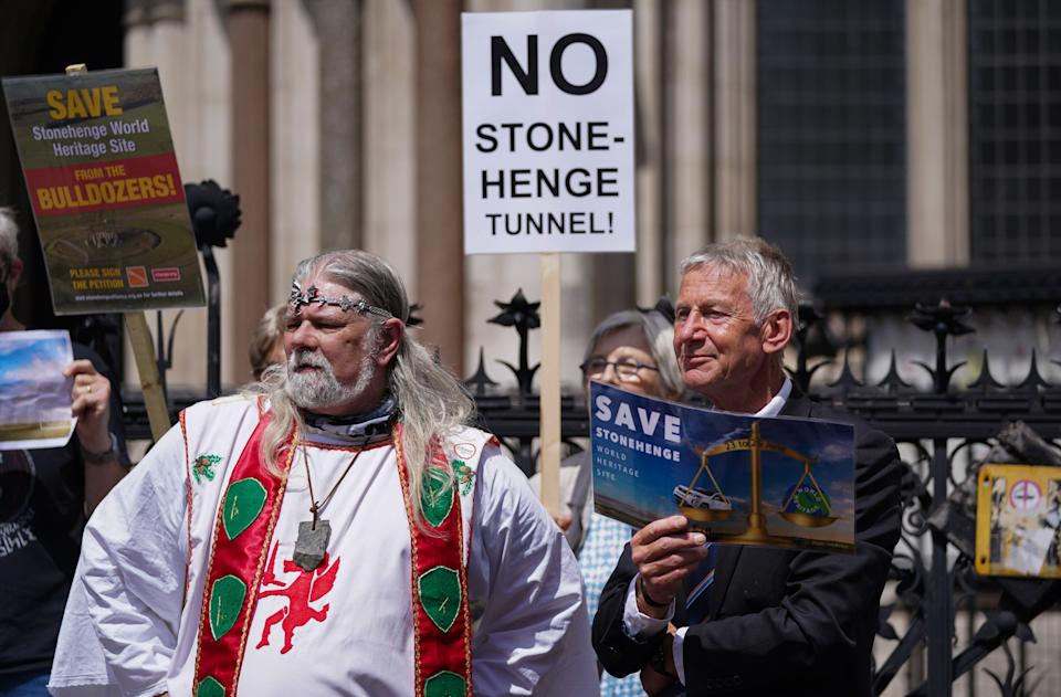 Highways England has insisted it will continue developing plans to dig a tunnel near Stonehenge despite campaigners opposed to the project winning a High Court battle (Kirsty O'Connor/PA) (PA Wire)