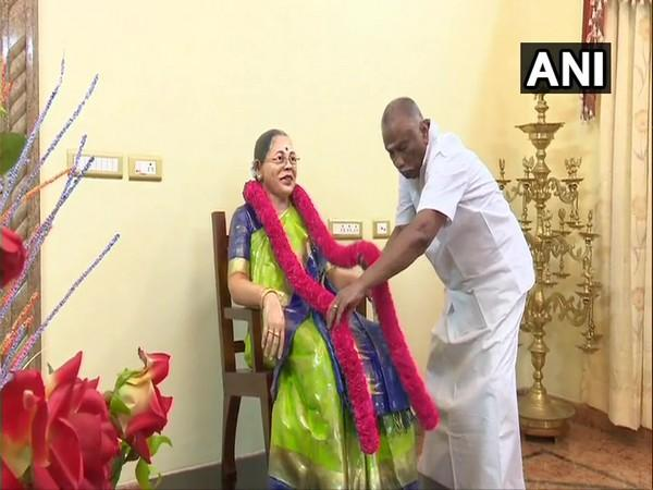 Sethuraman, a businessman, said the statue of his wife has been made of fibre, rubber and special colours to make it last longer. (Photo: ANI)