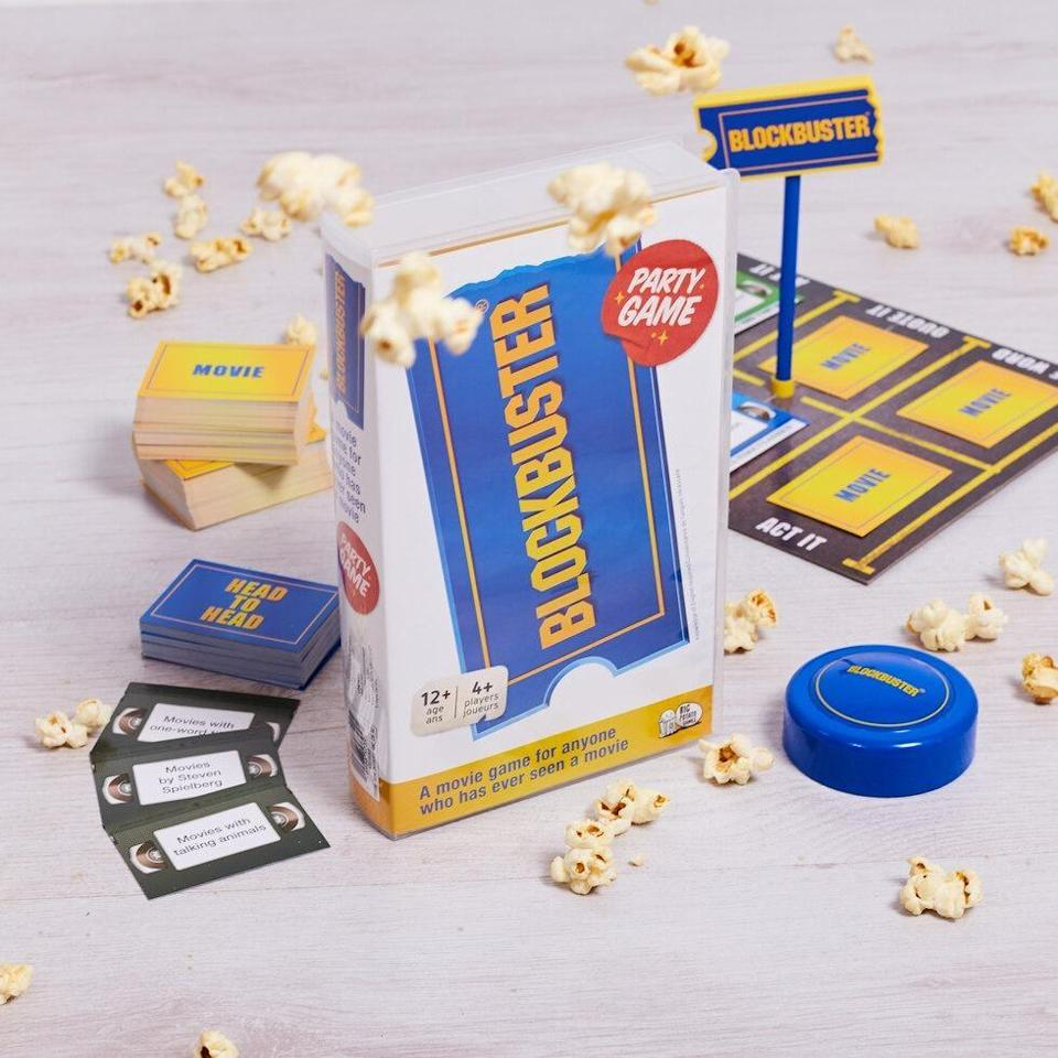 <p>Give this <span>Blockbuster Party Game</span> ($28) to a lucky friend who has a soft spot for renting movies.</p>