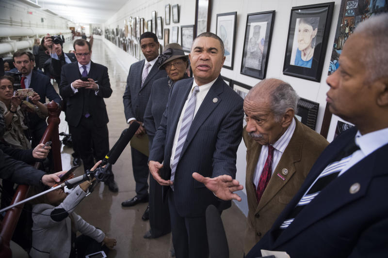 Missouri Democratic Rep. William Lacy Clay rebuffed a challenge from Cori Bush in the party's Tuesday's primary.