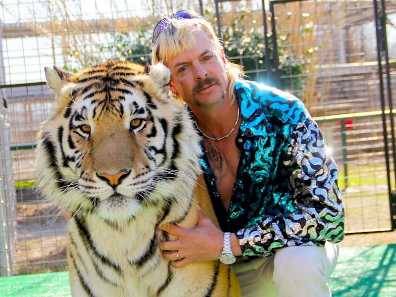The story of Joe Exotic has captured tens of millions of viewers: Netflix US/AFP via Getty Images