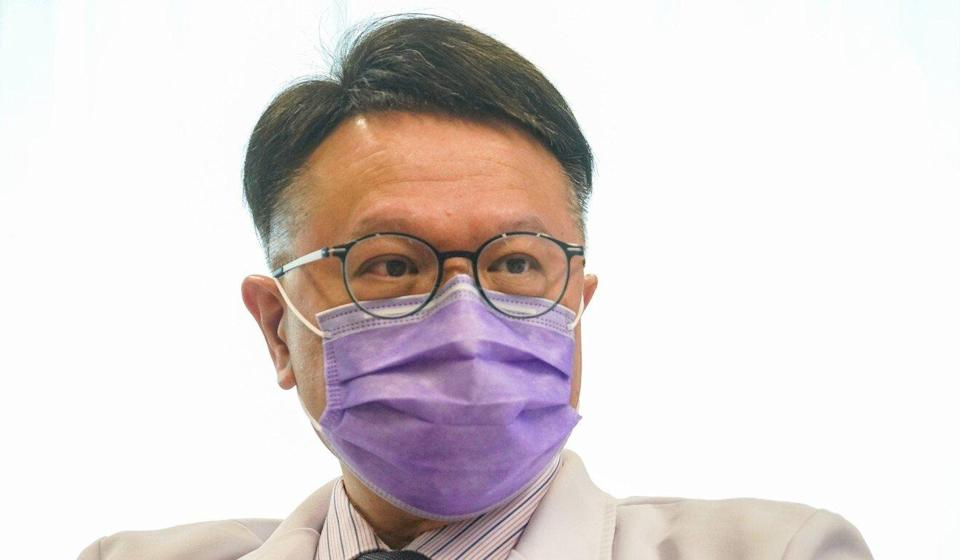 Professor David Hui is one of the government's pandemic advisers. Photo: Winson Wong