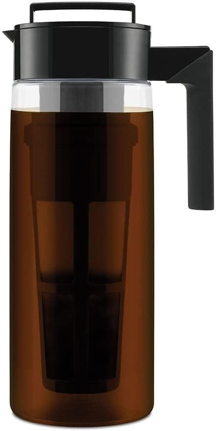 <p>If you love to drink cold brew and want to cut down on those Starbucks runs, you'll love using this <span>Takeya Patented Deluxe Cold Brew Coffee Maker</span> ($35). It's easy to use and will fit right in your fridge door. </p>