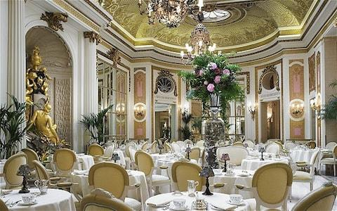 Afternoon tea in the Ritz