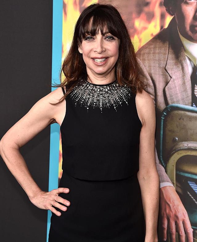 Illeana Douglas attends a screening of HBO's <em>The Zen Diaries of Garry Shandling</em> on March 14, 2018, in Hollywood, Calif. (Photo: Alberto E. Rodriguez/Getty Images)