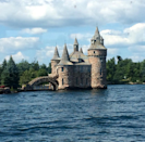 Boldt Castle, Heart Island, New York State - Turns out you got to be a millionaire to build a monument of love. The famous proprietor of the Waldrof Astoria Hotel in New York City, a millionaire in his own right, George C Boldt, wanted to build a 'home away from home' for his darling wife, Louise. In search of an appropriate location he landed up in the perfect location for this architecture of love –Heart Island. It is said that it took over 300 artisans to craft out this castle that houses 120 rooms in its six storied wonderment. (Image - Instagram)