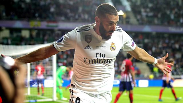 Karim Benzema is the seventh player to reach 200 goals for Real Madrid following his strike against Viktoria Plzen.